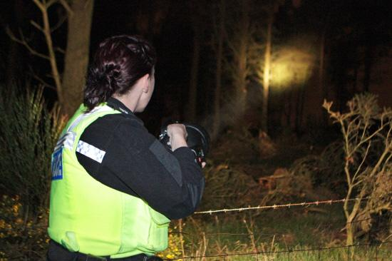 Hampshire Chronicle: A poaching team on patrol