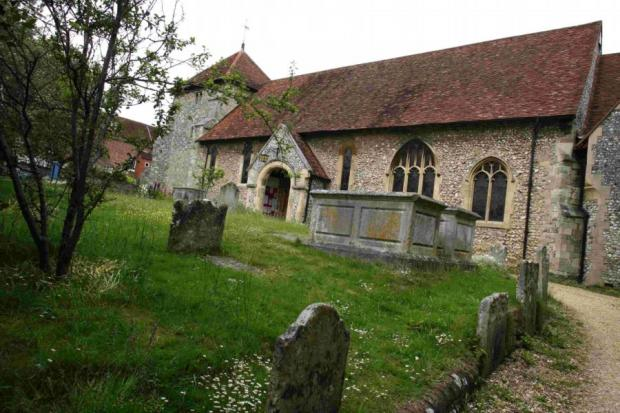 St Bartholomew's church in Hyde, which is thought to be the final resting place of King Alfred the Great