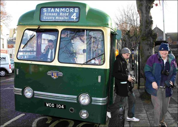 Hampshire Chronicle: Winchester bus charity recreates services on January 1