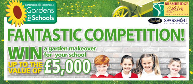 Hampshire Chronicle: Garden for Schools
