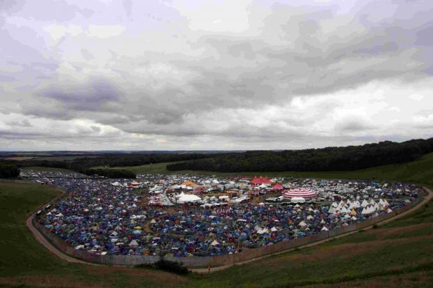 The Boomtown Fair at Matterley Bowl, near Winchester