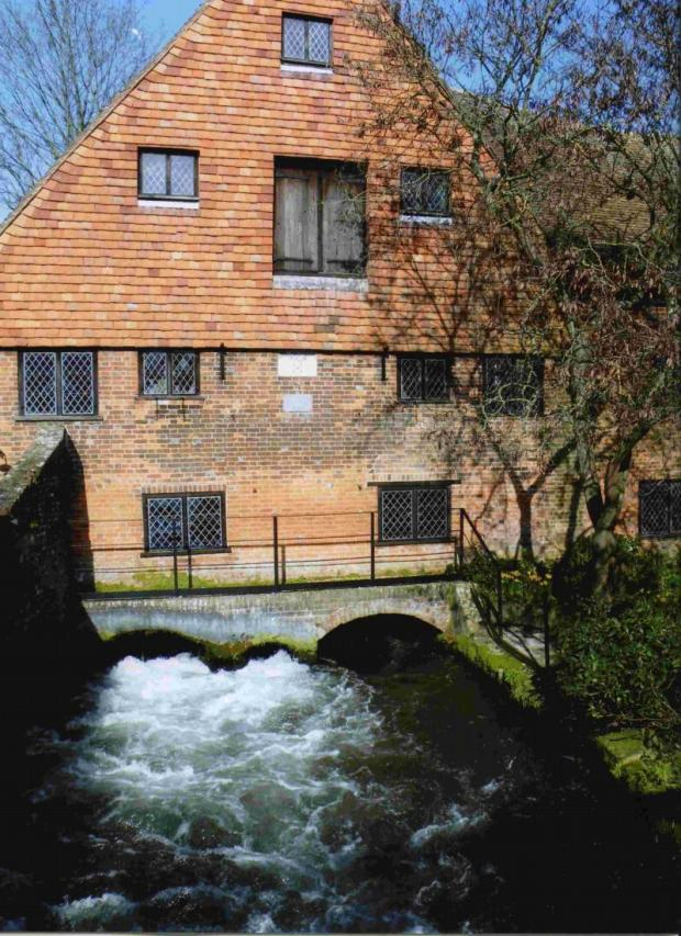 Hampshire Chronicle: Winchester City Mill produced 40 tonnes of flour last year and attracted more than 40,000 visitors