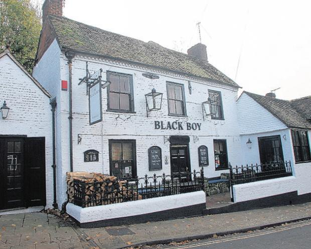 Winchester planners set to approve Black Boy B&B scheme