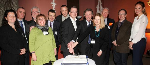 Hampshire Chronicle: The launch of the tenth anniversary awards last year