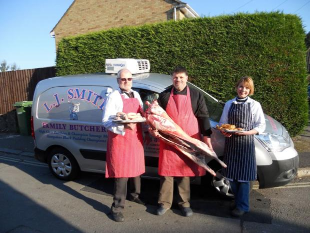 LJ Smith butchers, run by Les Smith and his son, Pip, and daughter, Donna, have now won more than 100 industry awards