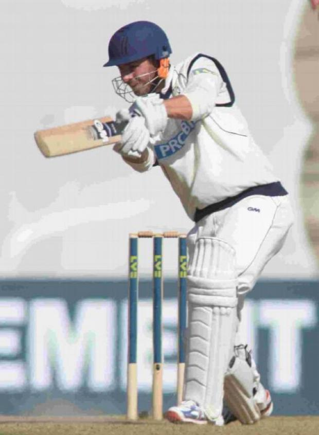 Hampshire Chronicle: Pre-season hundred for Vince