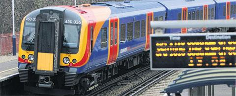 Fallen tree disrupts trains in Hampshire