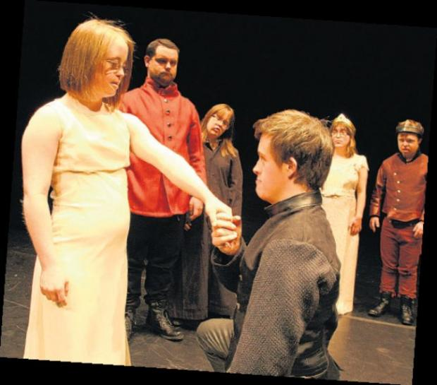 Hampshire Chronicle: The Blue Apple production of Hamlet in 2012