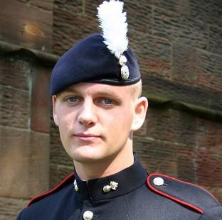 Corporal Michael Thacker, from 1st Battalion, The Royal Welsh, was shot dead in Afghanistan (MoD/PA)