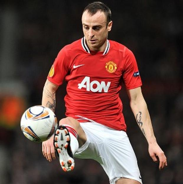 Sir Alex Ferguson says Dimitar Berbatov (pictured) is a 'fantastic footballer'