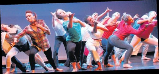 Parkewood Youth Dance triumphed in the senior category