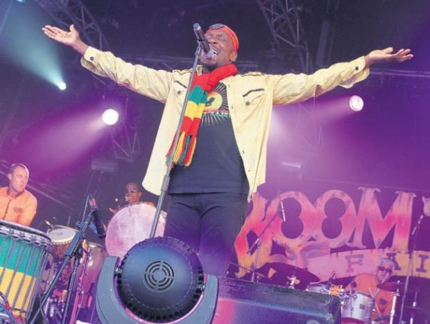 Jimmy Cliff on stage