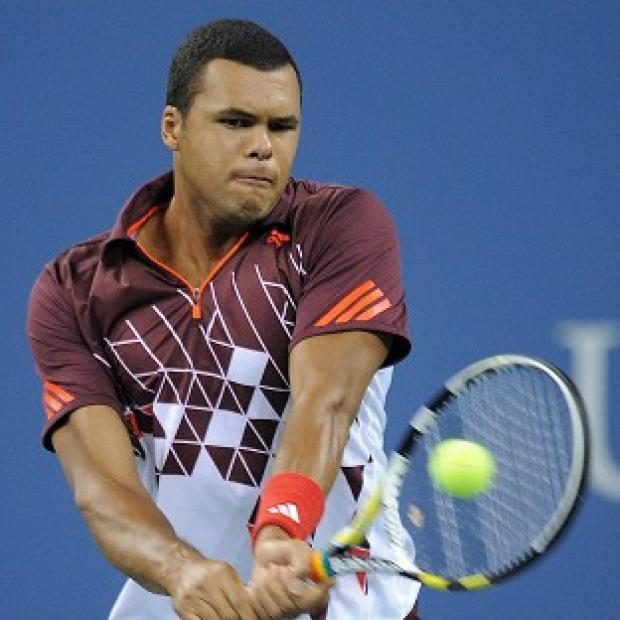 Jo-Wilfried Tsonga has been dumped out of the US Open