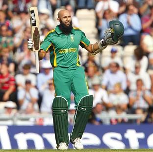 Hashim Amla proved to be a thorn in England's side once again