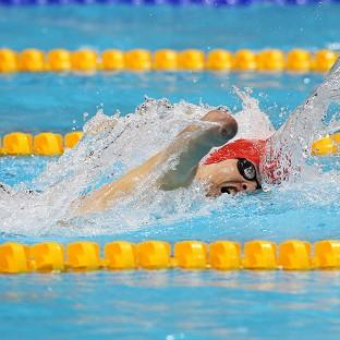 Oliver Hynd claimed silver in the S8 400m freestyle with his brother Sam taking bronze