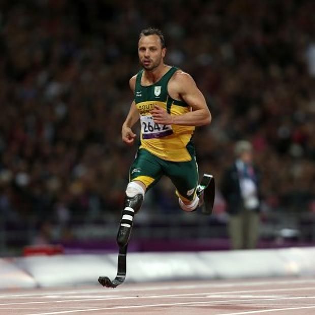 Oscar Pistorius smashed the world record in his heat