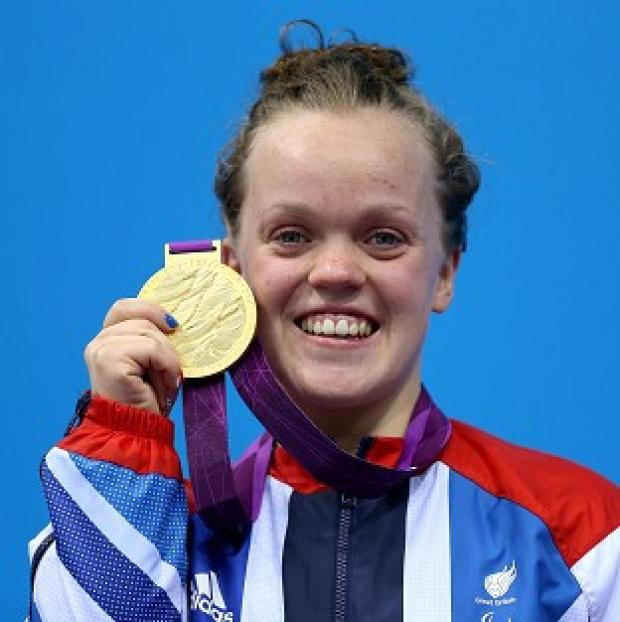 Ellie Simmonds is back in the pool, targeting her second gold of the Games