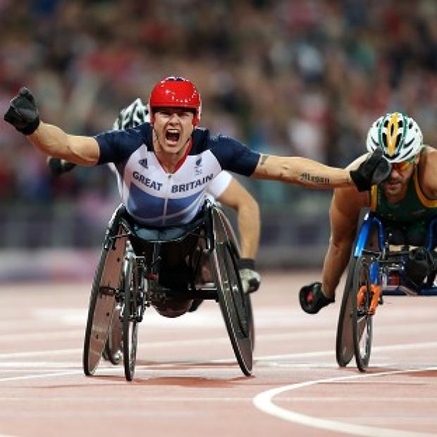 David Weir took gold in the 5000m and will aim for another three Paralmypic titles