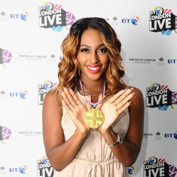 Alexandra Burke said the decision not to perform was out of her hands