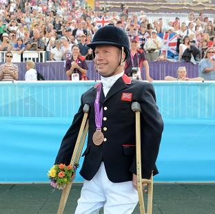Lee Pearson hopes the legacy of the 2012 Paralympic Games carries on