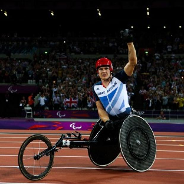 Double Paralympic champion David Weir is now targeting even more success in London