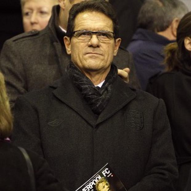 Fabio Capello was tight-lipped on his departure from the England job