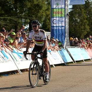 Mark Cavendish took his second successive stage victory on the Tour of Britain