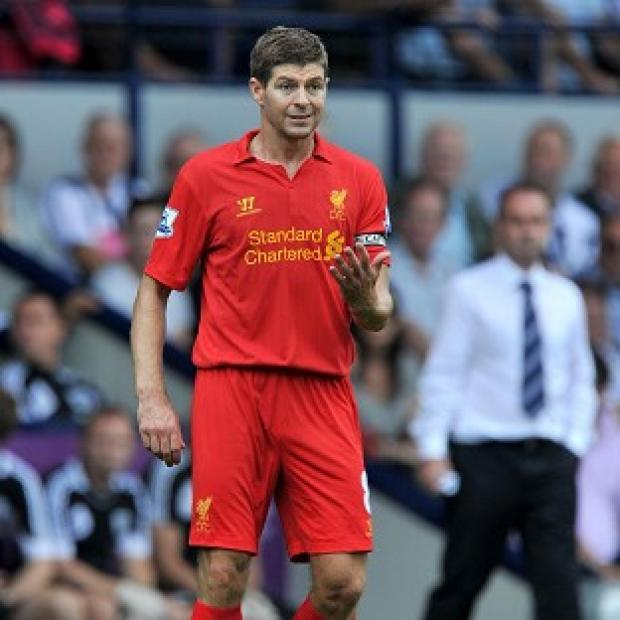 Brendan Rodgers has leapt to the defence of Steven Gerrard