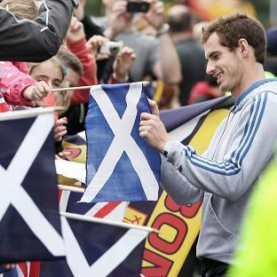 Olympic and US Open champion Andy Murray parades through Dunblane, making the return to his home town to thank fans for their support