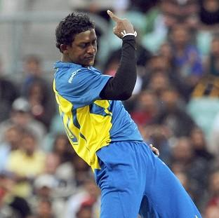 Ajantha Mendis claimed six wickets for just eight runs as Sri Lanka beat Zimbabwe in the opening ICC World Twenty20 clash