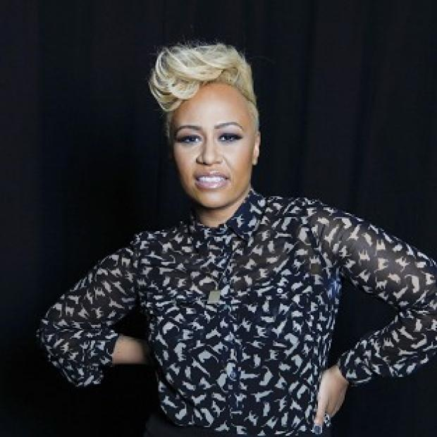 Emeli Sande has married boyfriend Adam Gouragine (AP)