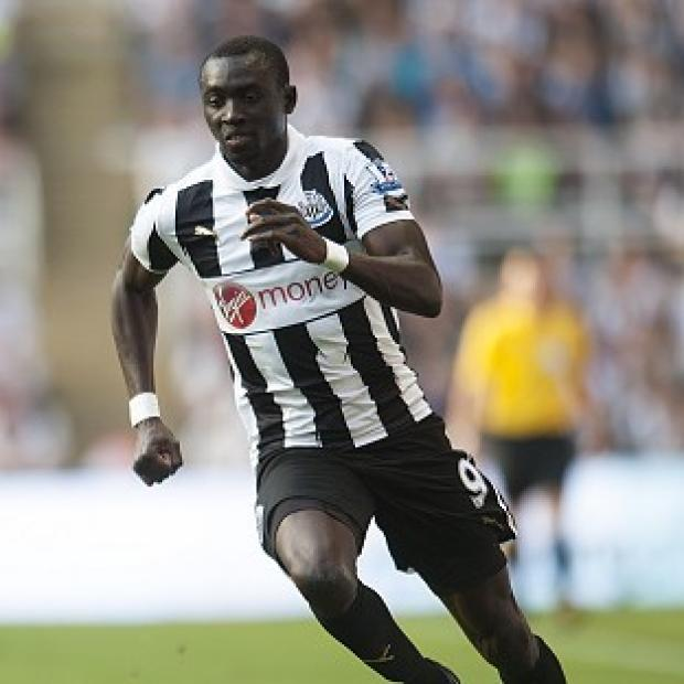 Papiss Cisse is out of Newcastle's game at Maritimo