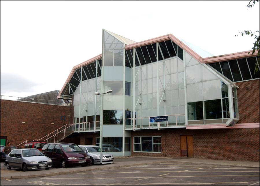 River Park Leisure Centre: nearly 40 years old