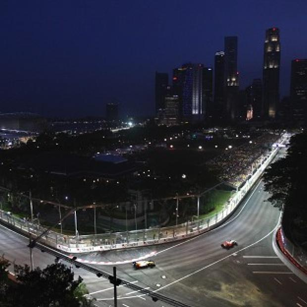 Martin Whitmarsh says the Singapore Grand Prix is like 'a Hollywood movie'