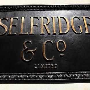 Police said robbers took less than 80 seconds to steal 100 watches from Selfridges in Manchester