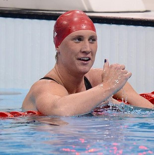 Gemma Spofforth has called time on her swimming career
