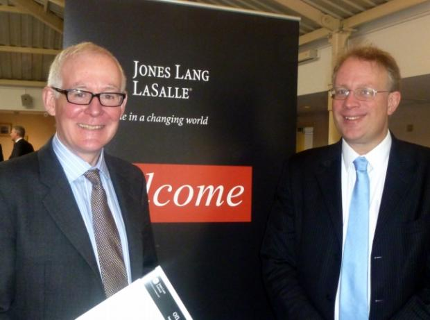 Michael Green and Andrew Burrell of Jones Lang LaSalle
