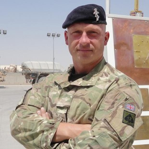Sergeant Jonathan Eric Kups who died at Camp Bastion in Helmand Province, Southern Afghanistan, on Friday