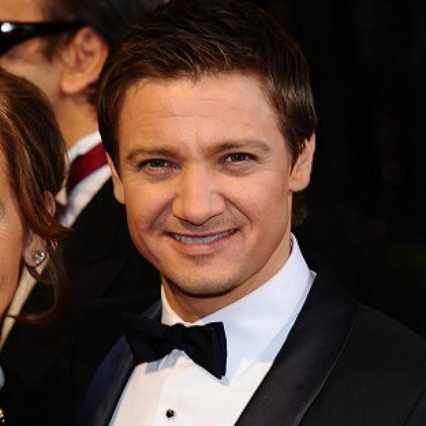 Jeremy Renner plays Hawkeye in Avengers Assemble