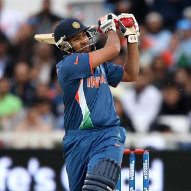 Rohit Sharma hit 55 from 33 balls for India