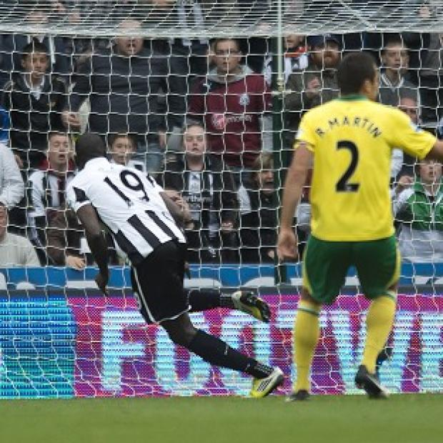 Demba Ba's solitary strike gave Newcastle victory over Norwich