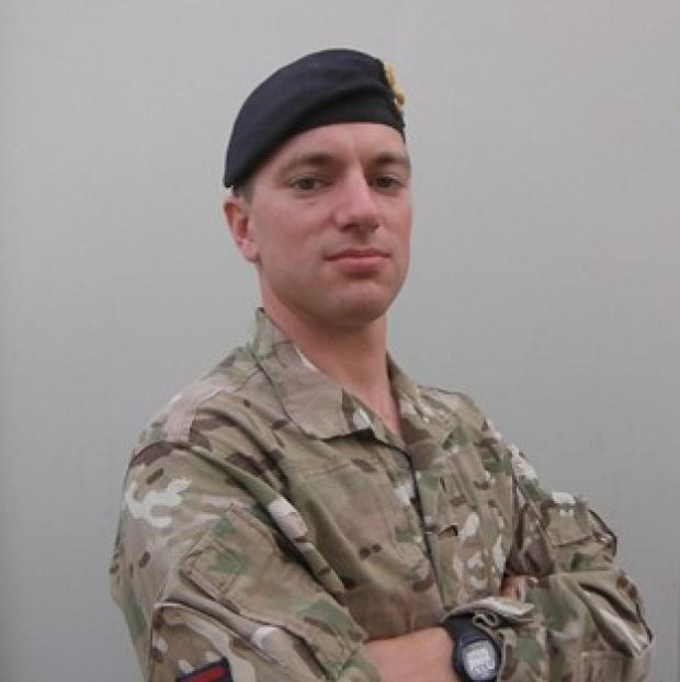 Captain James Townley, who died in Afghanistan, was a 'guardian angel', his family have said (MoD)