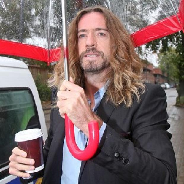 Justin Lee Collins is accused of harassing former girlfriend Anna Larke