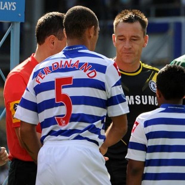 John Terry, right, is expected to appear for the third day of the hearing on Wednesday