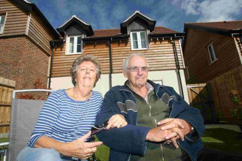 Anne and Peter Blake were delighted to be able to move back to Twyford