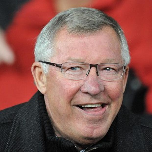 Sir Alex Ferguson, pictured, is impresed with the contribution of Robin van Persie
