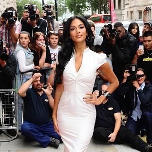 Nicole Scherzinger will be seen in this year's first live X Factor show on Saturday