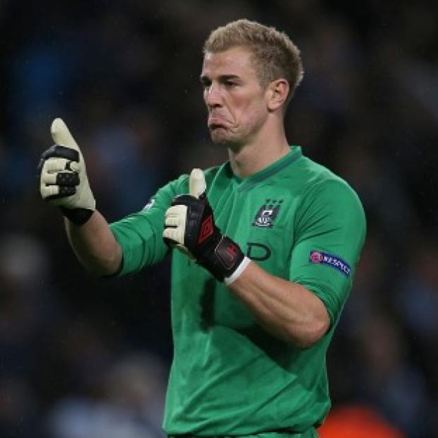 Joe Hart was in fine form for Manchester City against Dortmund