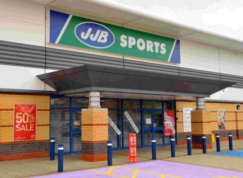 JJB Sports on Brighton Hill Retail Park has closed down