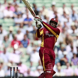 Chris Gayle led from the front as West Indies thumped Australia